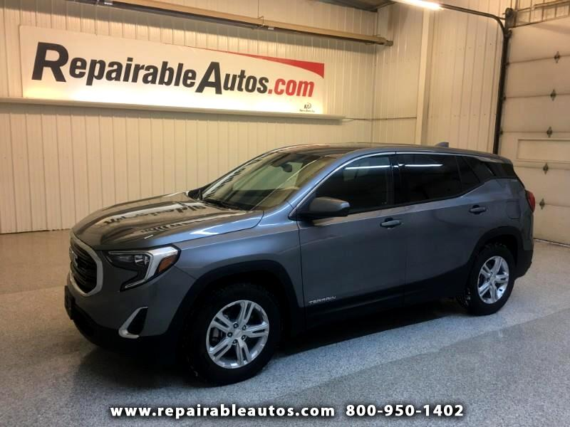 2019 GMC Terrain SLE FWD Repairable Rear Damage