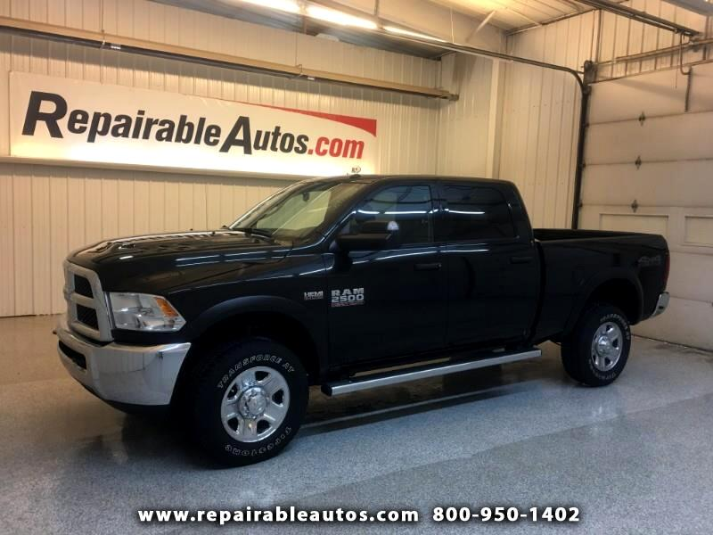 2018 RAM 2500 SLT 4WD Repairable Front/Side Damage