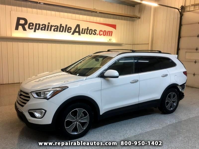 2015 Hyundai Santa Fe FWD Repairable Rear Damage