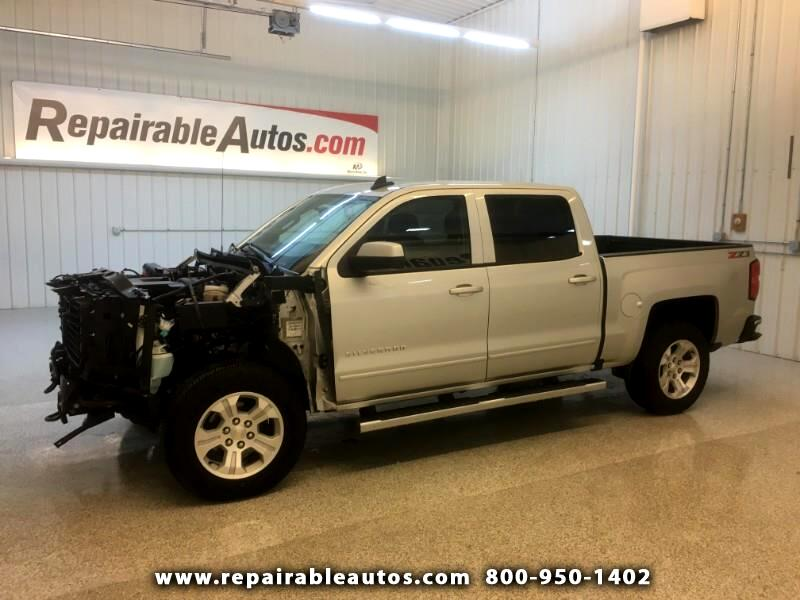 2018 Chevrolet Silverado 1500 Crew Cab 4WD Repairable Front Damage