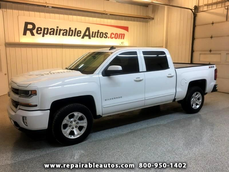 2017 Chevrolet Silverado 1500 LT 4WD  REPAIRABLE WATER DAM
