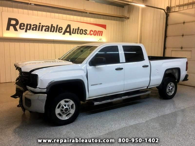 2015 GMC Sierra 2500HD 4WD Repairable Front Damage