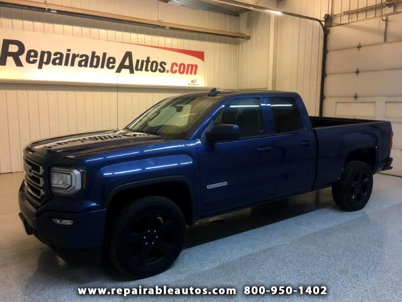 2017 GMC Sierra 1500 4WD Quad Cab Repairable Rear Damage