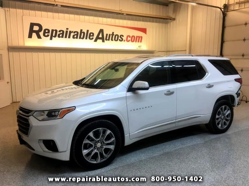 2018 Chevrolet Traverse AWD Premier Repairable Rear Damage