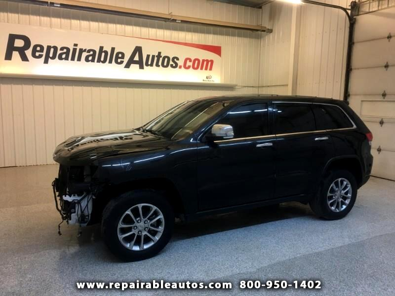 2015 Jeep Grand Cherokee Limited 4WD Repairable Front Damage