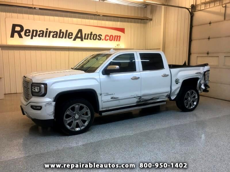 2018 GMC Sierra 1500 Denali 4WD Repairable Side Damage