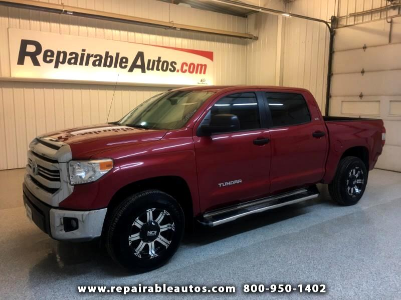 2017 Toyota Tundra SR5 2WD Repairable Rear Damage