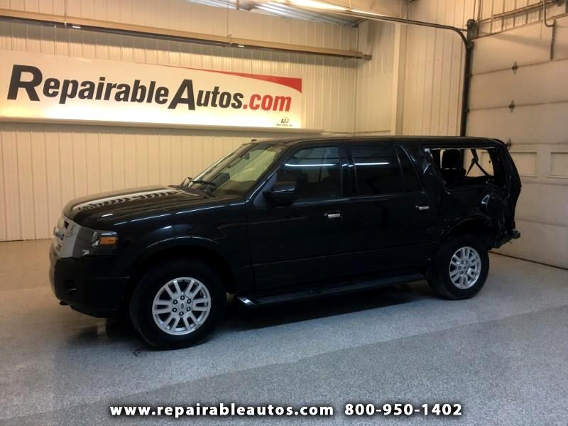 2013 Ford Expedition EL Limited 4WD Repairable Rear Damage