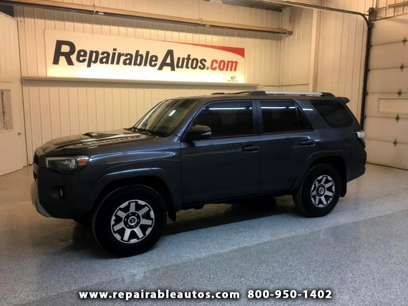 2017 Toyota 4Runner SR5 TRD 4WD Repairable Rear Damage