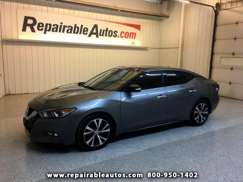 2016 Nissan Maxima SL Repairable Undercarriage Damage