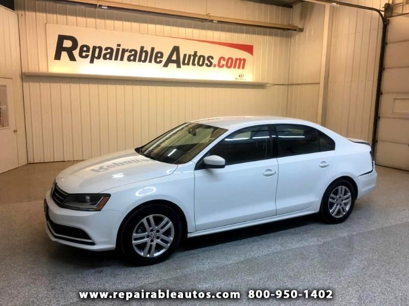 2018 Volkswagen Jetta Repairable Rear Damage