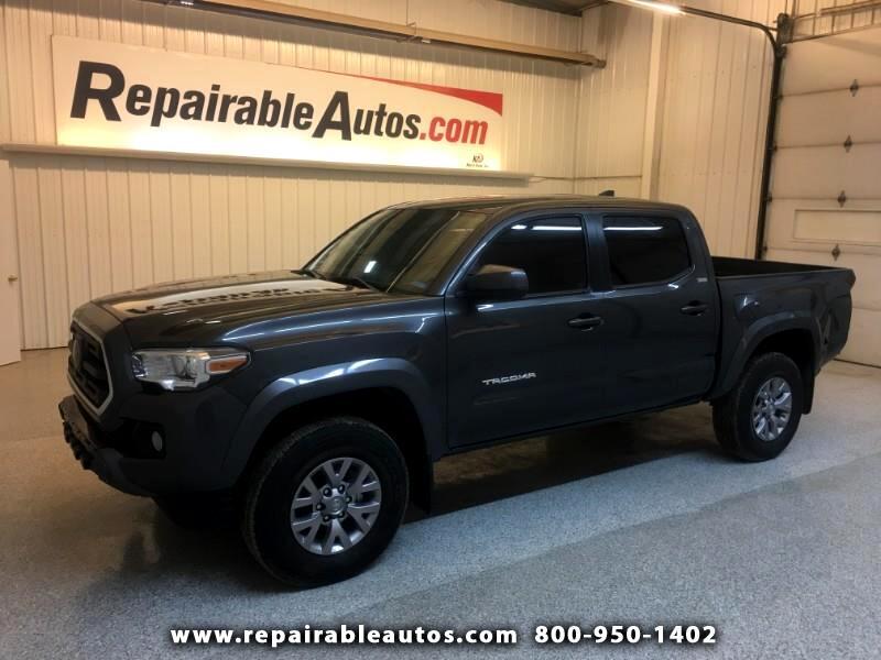2018 Toyota Tacoma SR5 2WD Repairable Rear Damage