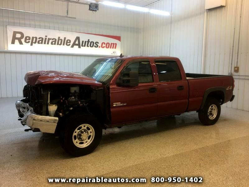 2006 Chevrolet Silverado 2500HD LT 4WD Repairable Front Damage