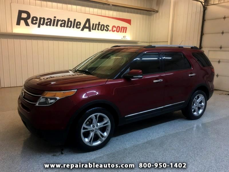 2014 Ford Explorer Limited 4WD Repairable Collision Damage