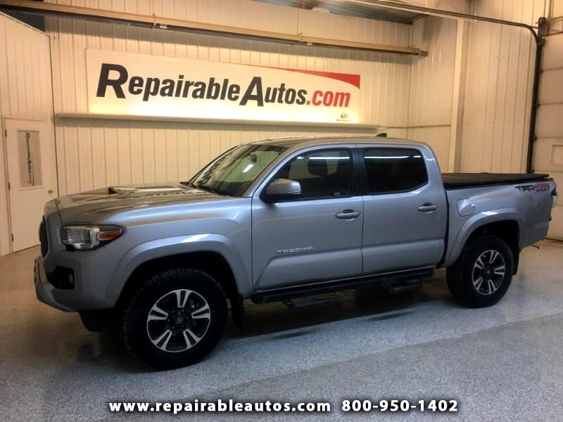 2018 Toyota Tacoma TRD 4WD SPORT Repairable Rear Damage