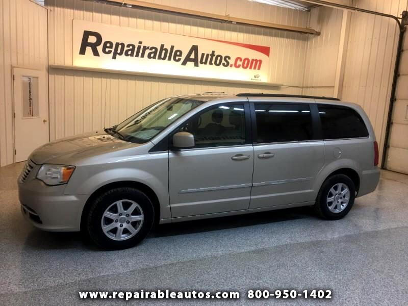 2013 Chrysler Town & Country Repairable Hail Damage
