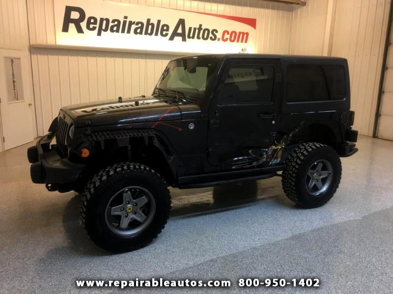 2016 Jeep Wrangler 4WD Repairable Side Damage