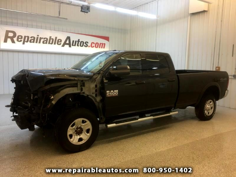 2018 RAM 2500 4WD Repairable Front Damage