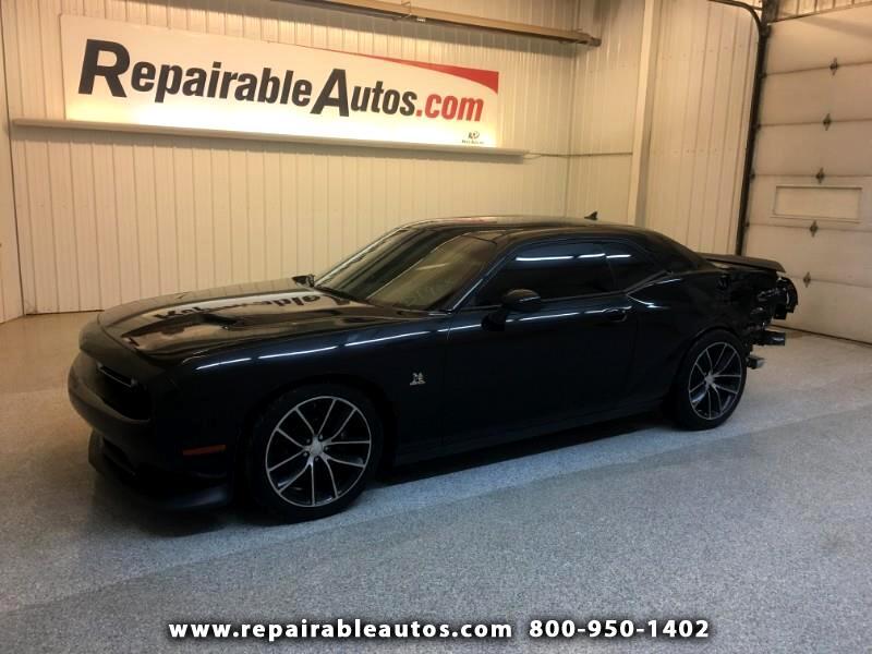 2015 Dodge Challenger Repairable Rear Damage
