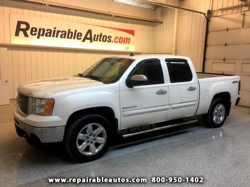 2012 GMC Sierra 1500 SLT 4WD Repairable Rear Damage