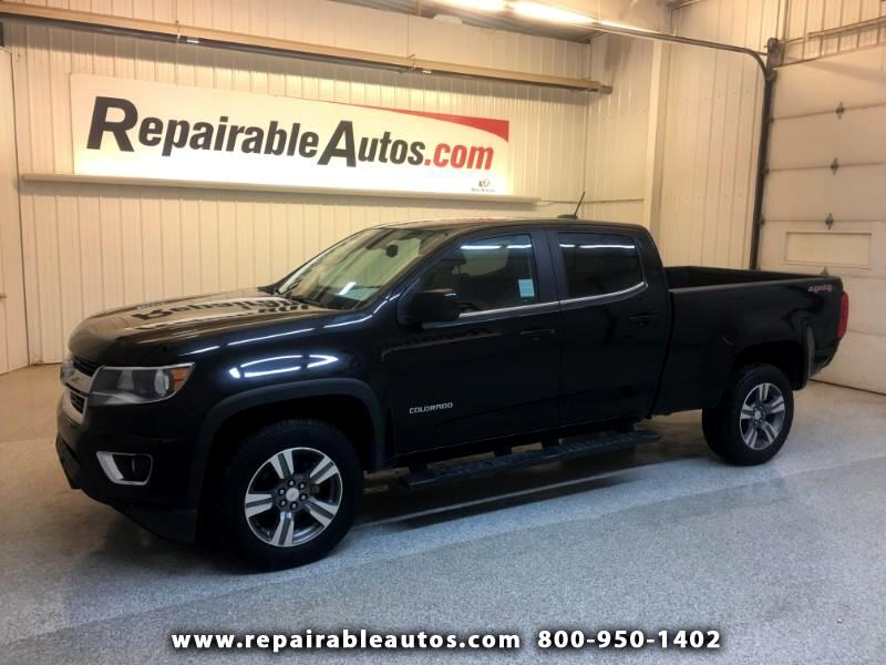 2016 Chevrolet Colorado LT 4WD Repairable Rear Damage