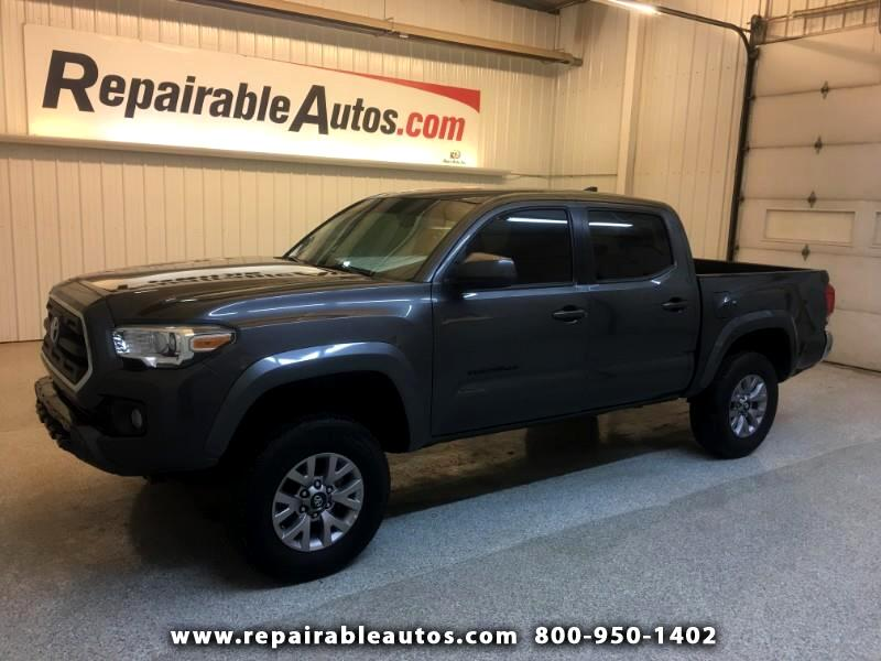 2016 Toyota Tacoma 4WD Repairable Rear Damage