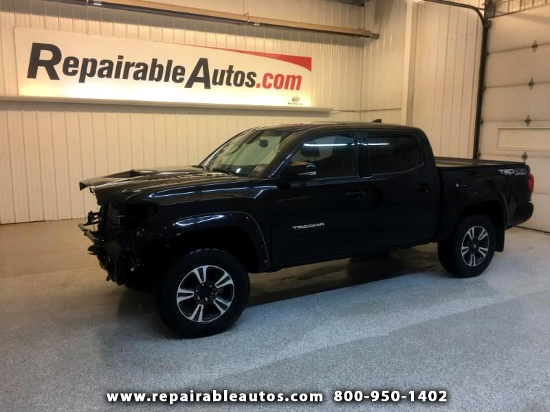 2018 Toyota Tacoma 4WD Repairable Front Damage