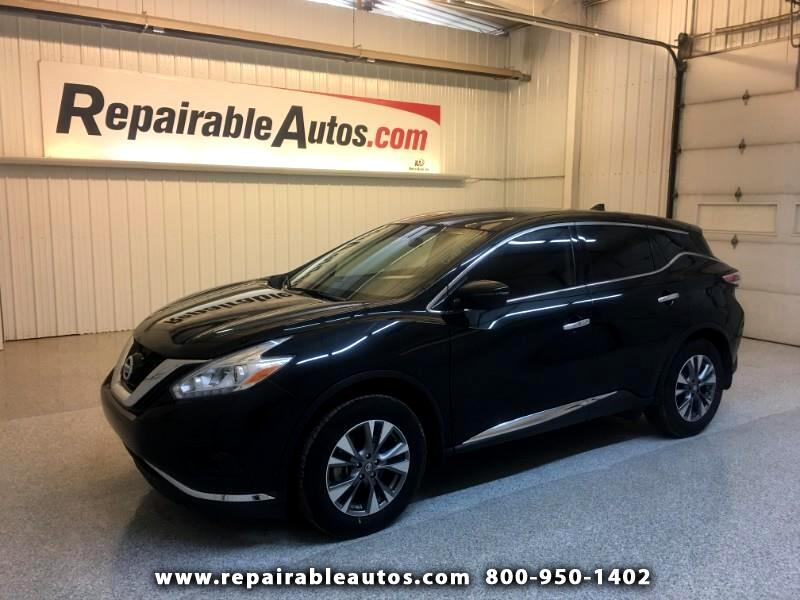 2017 Nissan Murano AWD REPAIRED FRONT DAMAGE