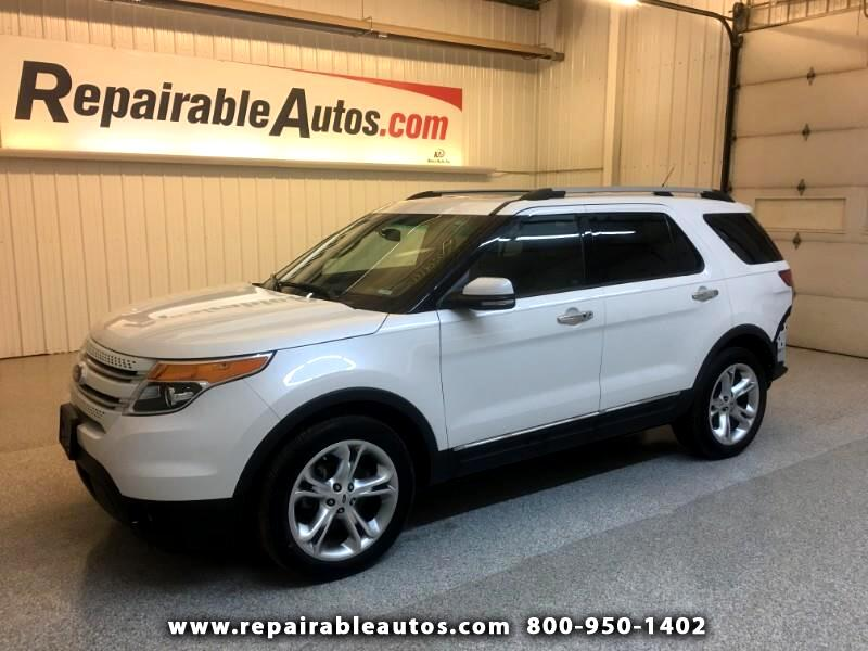 2012 Ford Explorer Limited Repairable Rear Damage