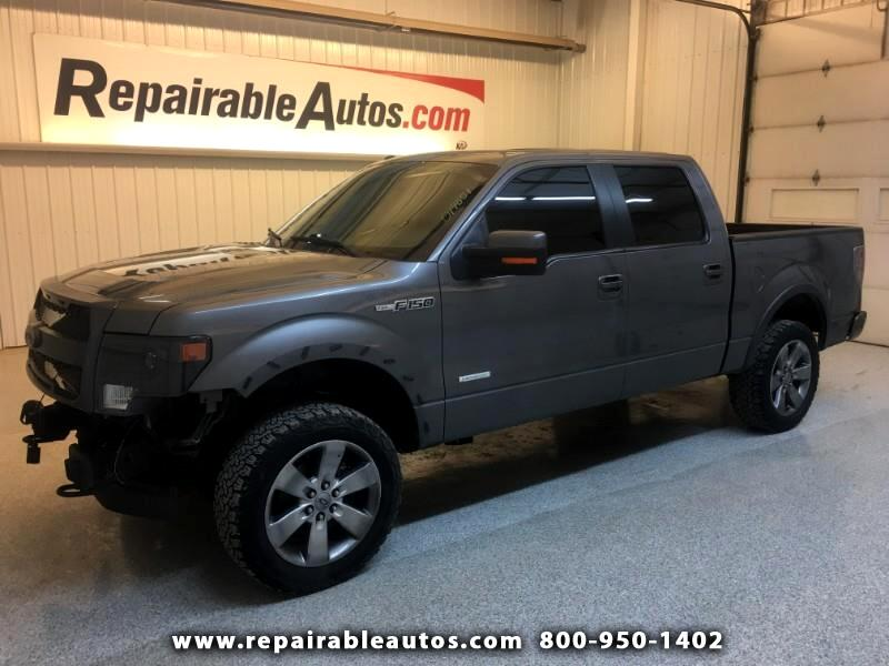 2013 Ford F-150 FX4 Repairable Front Damage