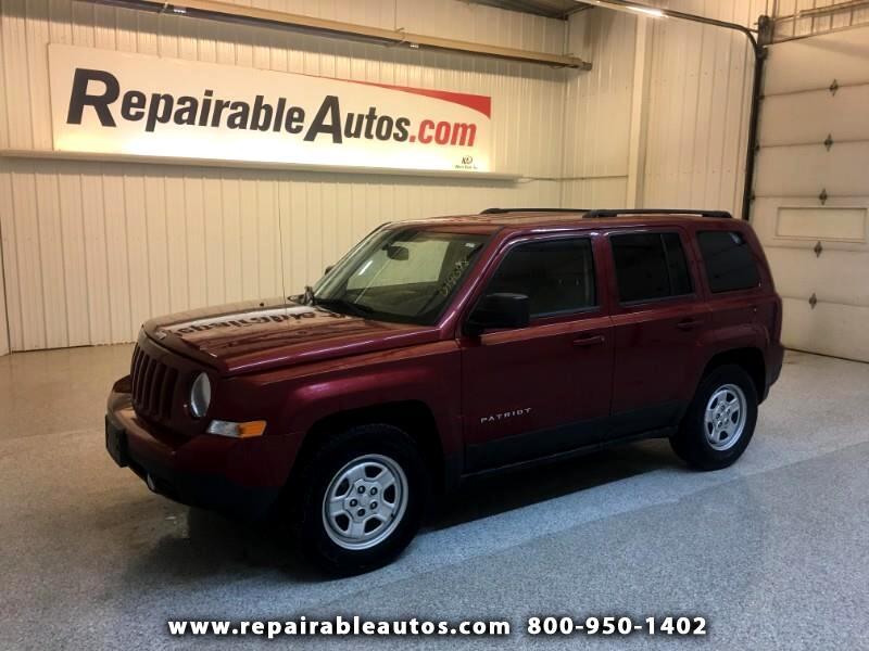 2014 Jeep Patriot 2WD Repairable Hail Damage