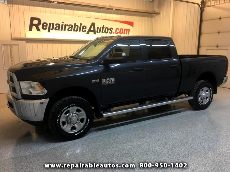 2015 RAM 2500 4WD Repaired Fire Damage