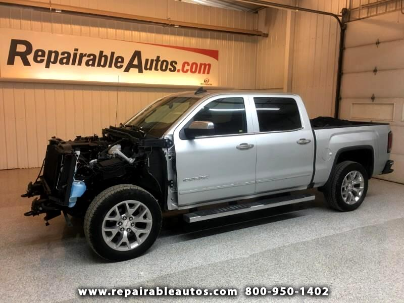 2018 GMC Sierra 1500 SLT 4WD Repairable Front Damage