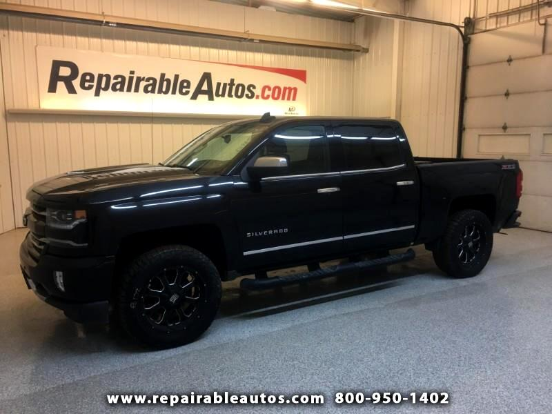 2016 Chevrolet Silverado 1500 LTZ 4WD Repairable Rear Damage