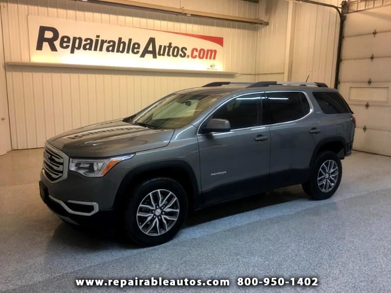 2019 GMC Acadia SLE AWD Repairable Rear Damage