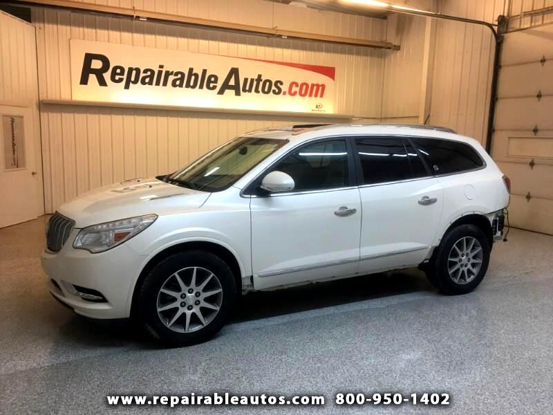 2015 Buick Enclave Repairable Rear Damage