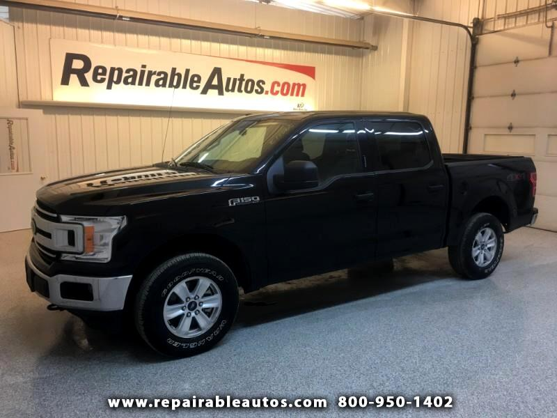 2018 Ford F-150 XLT 4WD Repairable Rear Damage