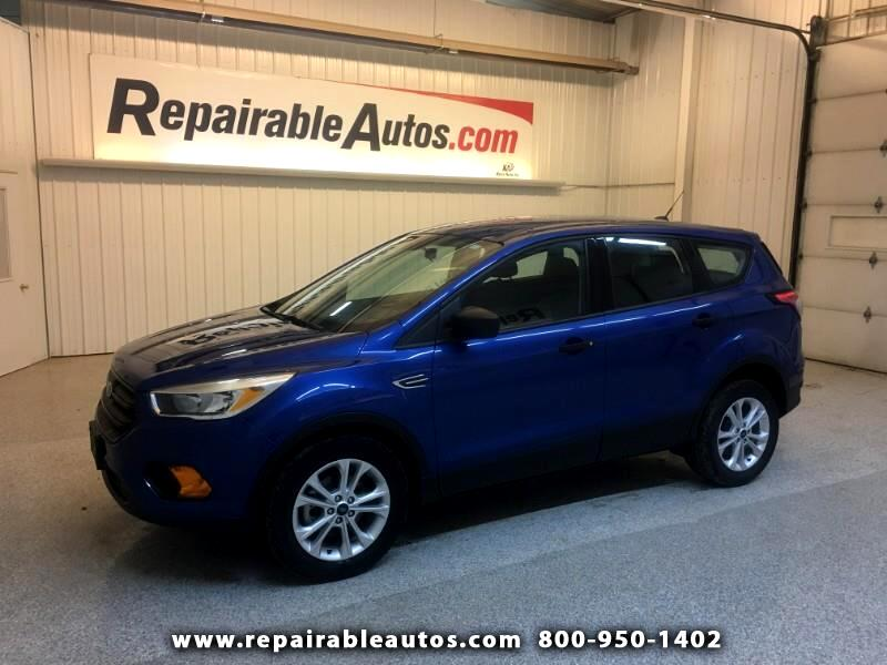 2017 Ford Escape FWD Repairable Hail Damage