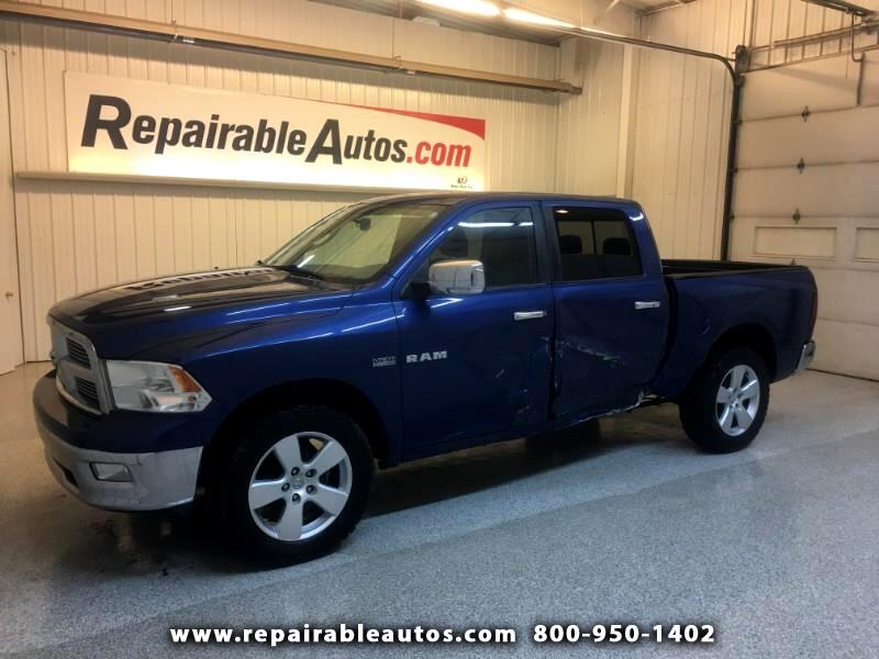 2009 Dodge Ram 1500 BigHorn 4WD Repairable Side Damage