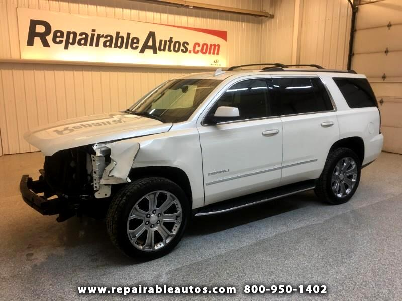 2015 GMC Yukon Denali Repairable Front Damage