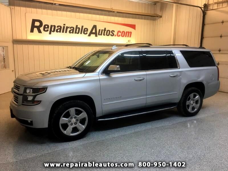 2018 Chevrolet Suburban Premier 4WD Repairable Side Damage