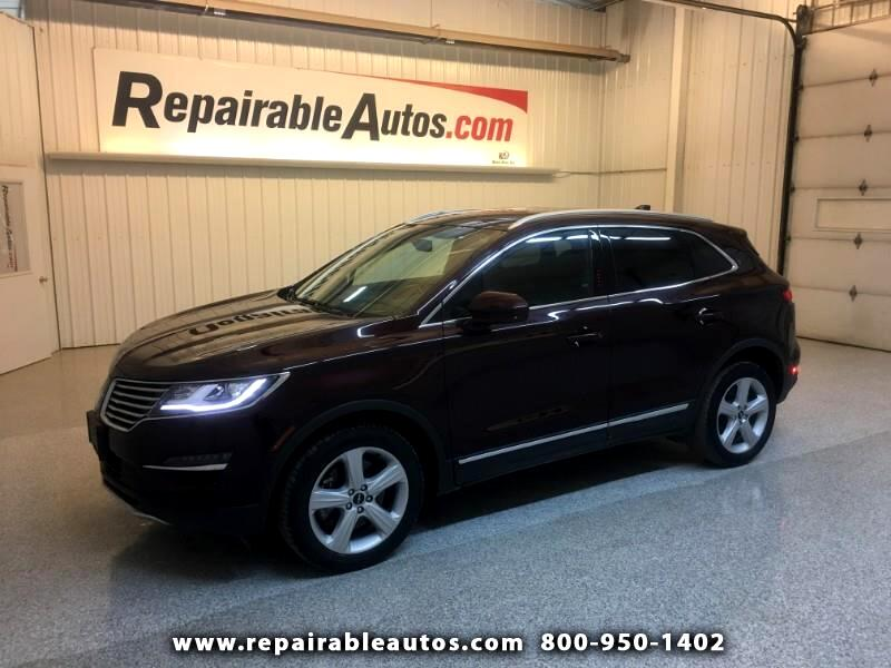 2016 Lincoln MKC Premiere AWD Repairable Undercarriage Damage