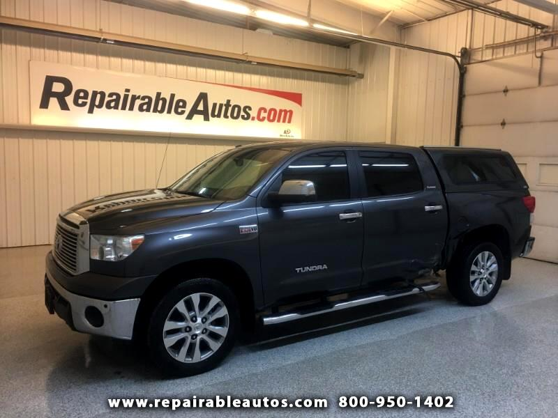 2012 Toyota Tundra Platinum 4WD Repairable Side Damage