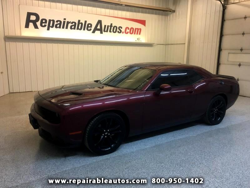 2018 Dodge Challenger Repairable Side Damage