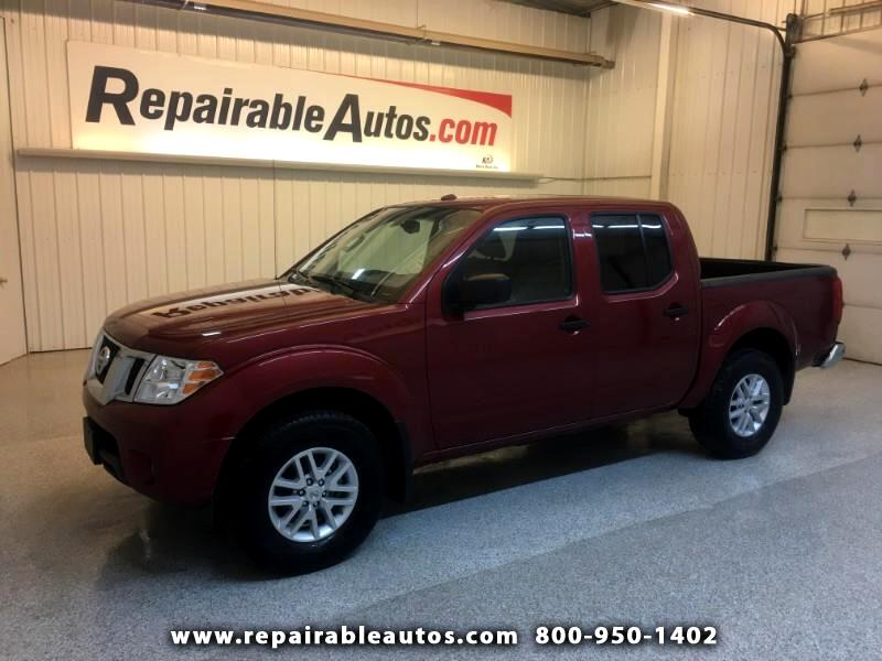 2017 Nissan Frontier SV 4WD Repairable Rear Damage