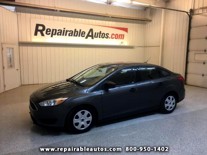 2016 Ford Focus Repairable Hail Damage