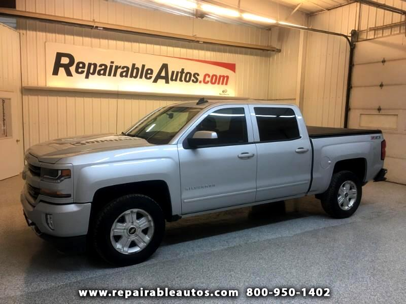 2016 Chevrolet Silverado 1500 LT 4WD Repairable Front & Rear Damage
