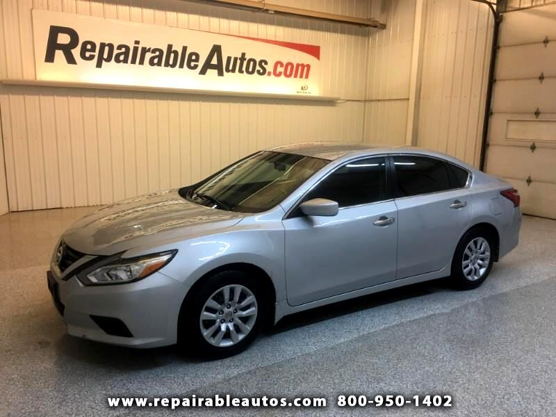 2017 Nissan Altima Repairable Hail Damage