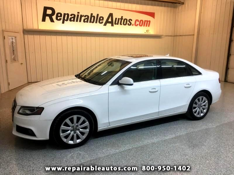 2011 Audi A4 Repairable Hail Damage
