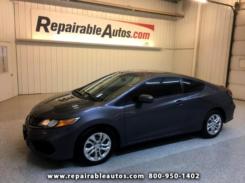 2015 Honda Civic Repairable Hail Damage